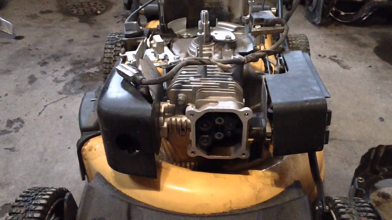 REVIEW OF A CUB CADETMTD CHEAP CHINESE OHV ENGINE DAMAGE