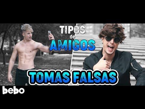 TIPOS DE AMIGOS - PARODIA (Videoclip) [TOMAS FALSAS y COMO SE HIZO]