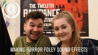 How to Create Horror Foley Sound Effects / Filmmaking Tips