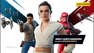 Evento de star wars/Fortnite