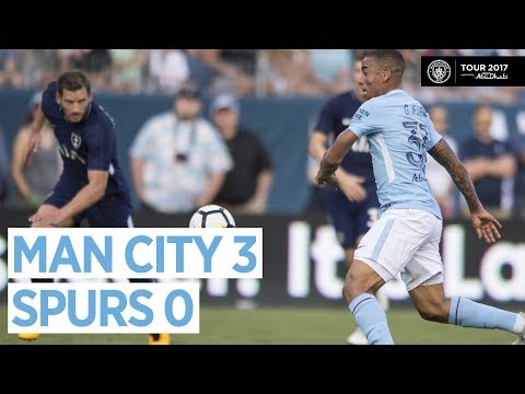 GOALS & HIGHLIGHTS! Man City vs Tottenham 3-0 | 29 July 2017