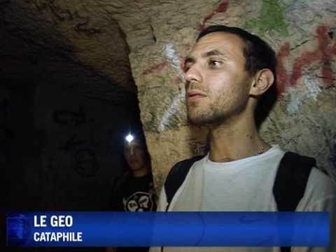 An illegal tour beneath the French capital