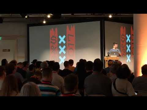 Opening the Perl Conference in Amsterdam 2017