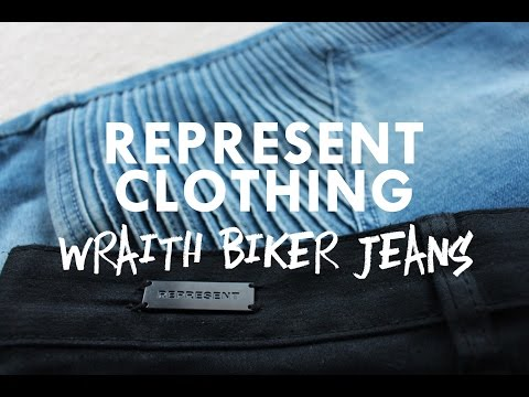 Represent Clothing - Wraith Biker Jeans