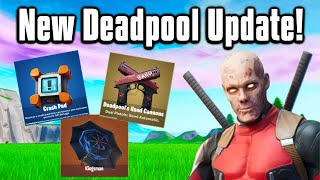 Everything New From The HUGE Fortnite Update! - Kingsman Umbrella, Crash Pads & More!