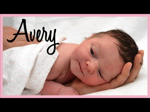 MEET BABY AVERY!   Baby's First Week of Life