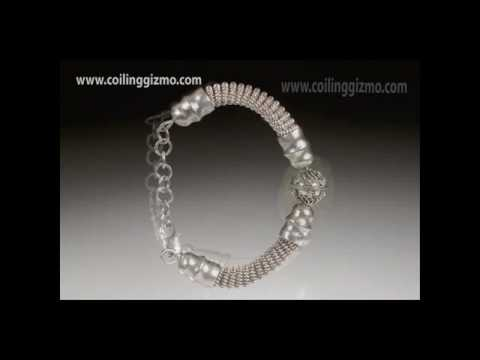 Jewelry Made with the Coiling Gizmo - YouTube