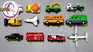 讓小朋友認識不同交通工具的名稱|第二集|TOMY Tomica|玩具反斗城玩具