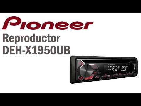 Pioneer Guatemala reproductores audio DEH-X1950UB