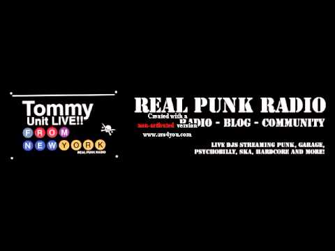 Tommy Unit Live!! Real Punk Radio whit a song from Bavarian Punk Band names KloriX