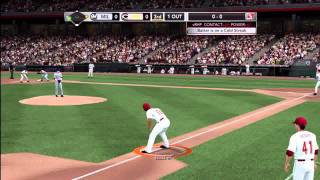MLB 2K11: MY PLAYER CAREER GAMEPLAY/ LIVE COMMENTARY