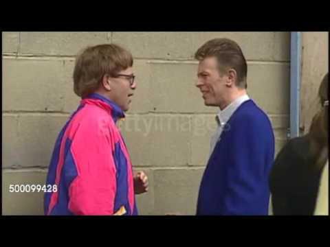 Elton John TalksTo David Bowie