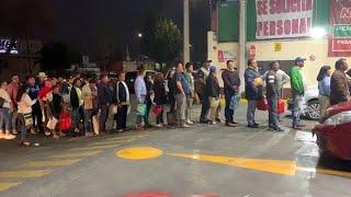 Escasez de gasolina desata compras de pánico en al menos seis estados
