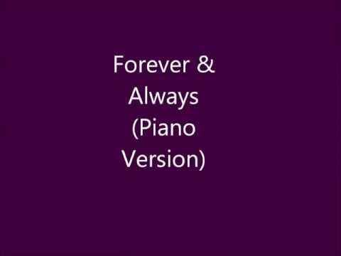Forever And Always (Piano Version) - Taylor Swift Piano Cover