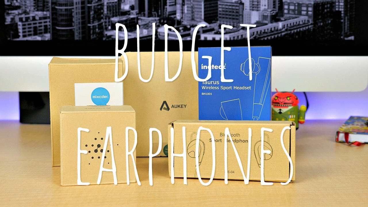 Budget Bluetooth Earphones The Good The Bad My Favorite Youtube