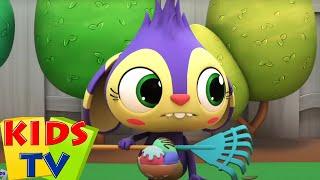 Banyak Tangan Bekerja Sama | Bayi sajak | Kids Tv Indonesia | Kartun untuk anak