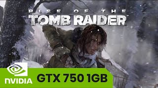 Rise of the Tomb Raider on I i5 2500 + GTX 750 1GB I