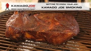Kamado Joe - Smoking