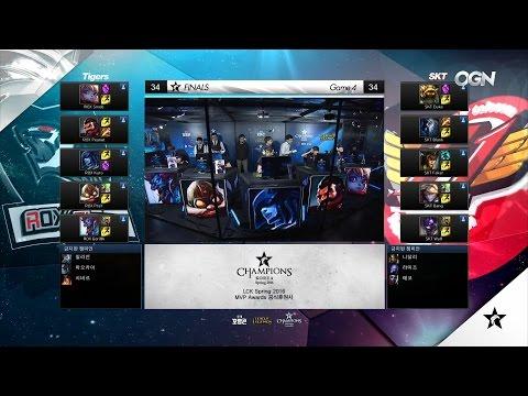 ROX vs SKT Game 4 Highlights - ROX TIGERS vs SK TELECOM T1 - LCK SPRING 2016 PLAYOFFS FINAL