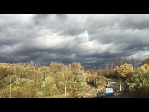 Timelapse of Belgium weather today