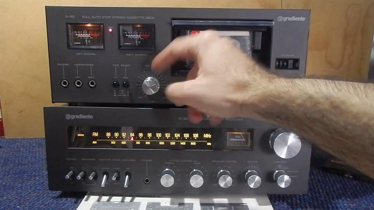 Gradiente S95 Tape