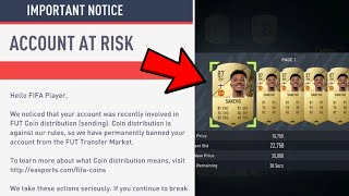 HOW TO GET UNBĄNNED FROM THE TRANSFER MARKET IN FIFA 22! (EASY)