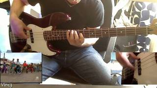 Blues Brothers feat. Ray Charles - Twist It! (Shake your tail feather)[bass cover / HD 720p] 2.0