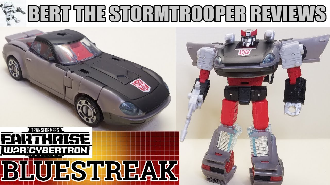 Transformers War for Cybertron, Earthrise BLUESTREAK Review by Bert the Stormtrooper!