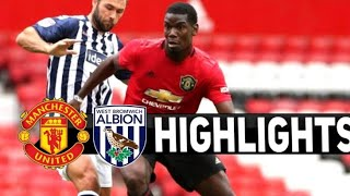 Man U VS West Brom Friendly Highlights/ Andreas Scores A Banger!