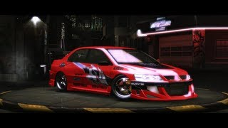 HOW to make Tokyo Drift LANCER EVO - Need for Speed: Underground 2 | HD
