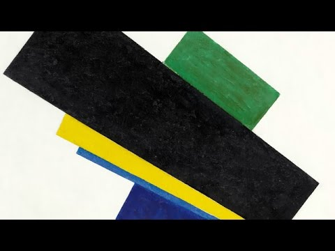 Kazimir Malevich's 'Suprematism, 18th Construction'