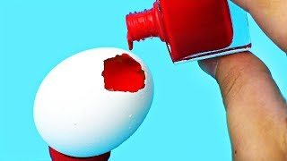 9 AWESOME TRICKS WITH EGGS!