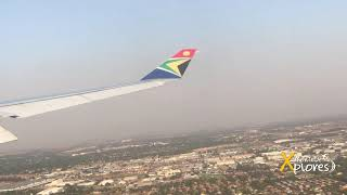 South African Airways A330-200 Landing at OR Tambo International Airport
