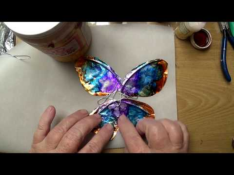 DIY Fairy Wing video tutorial for your doll without using femo gel or fabric