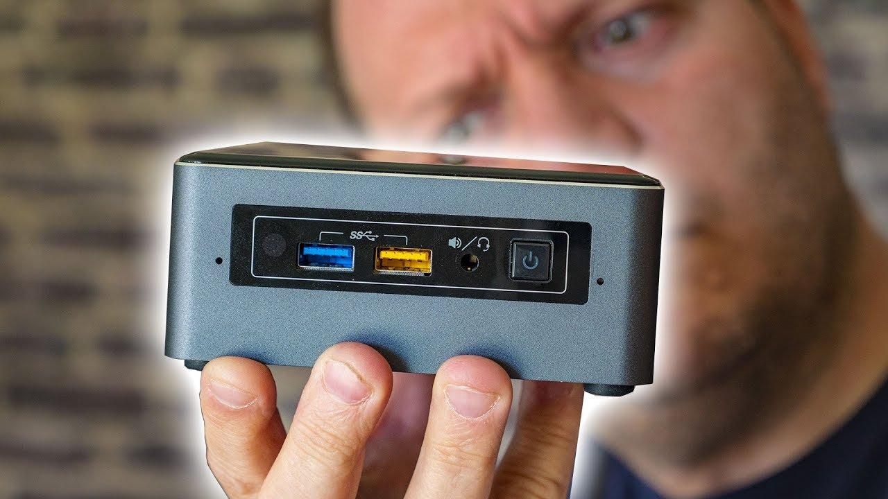 Intel NUC avec Optane : le mini PC sous stéroïdes