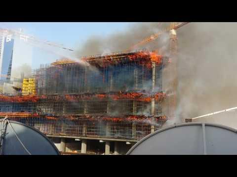 Fire in Kuwait City