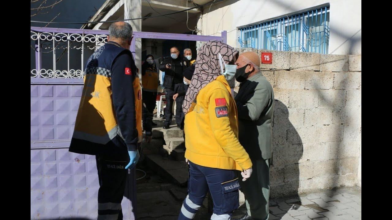 İtfaiye ekipleri iki çocuğun öldüğü evde inceleme yaptı