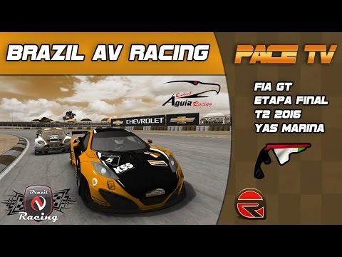 BRAZIL AV RACING - FIA GT - T2/2016 -  ETAPA FINAL YAS MARINA