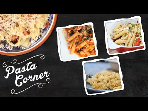 Pasta Corner | Collection Of Simple Italian Pasta Recipes