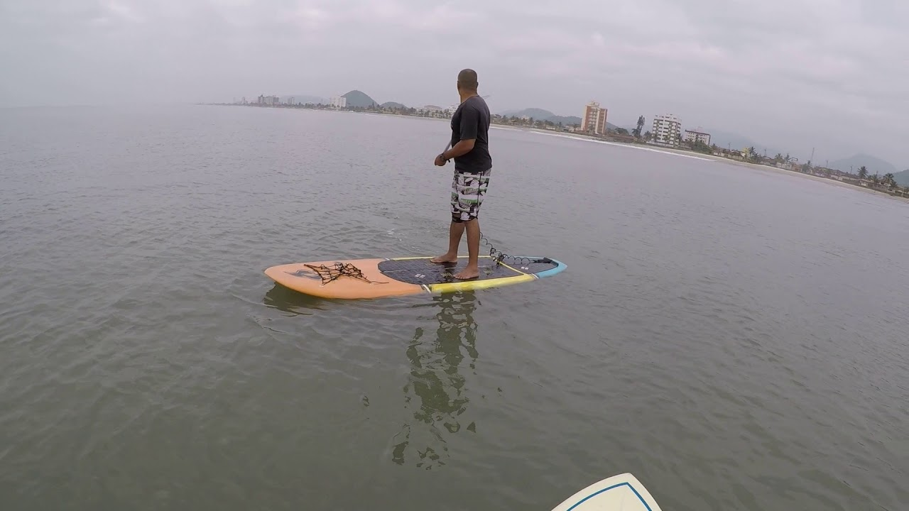 ffac019d2 Stand Up Paddle - Remada no mar a primeira vez. - parte 03 - YouTube