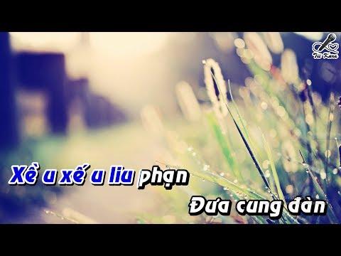 [Karaoke] Đêm Gành Hào Nghe Điệu Hoài Lang - Tone Nữ - Beat Full Hd - Tít Kara