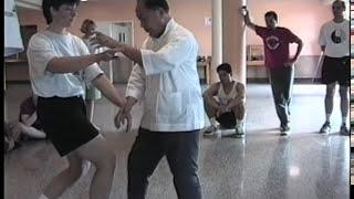 Tuishou Exercise 12 - Double Arm Vertical Circle,  Part 2
