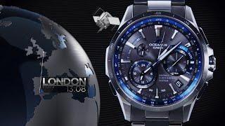 CASIO OCEANUS OCW-G1000 Promotion video(Functional video)