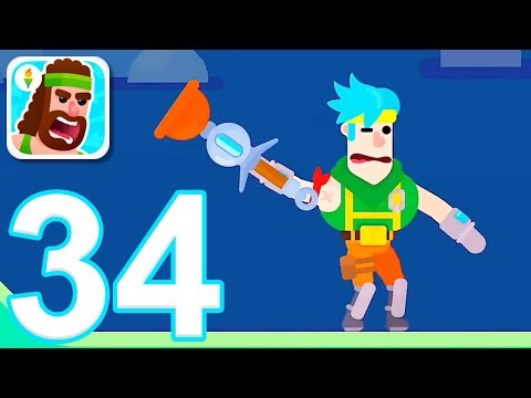 Bowmasters - Gameplay Walkthrough Part 34 - 2 New Characters (iOS)