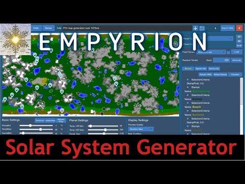 Empyrion Galactic Survival - Solar System Generator - Alpha 8.0 - German Deutsch Gameplay
