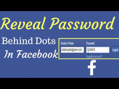 I find on facebook where my do password How to