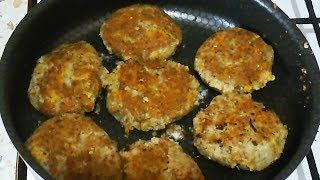 Котлеты из гречки / Cutlets from buckwheat