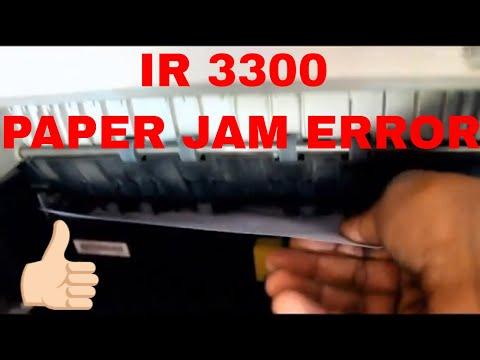 Canon IR 3300 Xerox Machine Paper Jam Error Quick Solutino | In Hindi