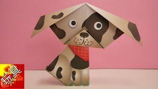 荷兰 SES 儿童 趣味 DIY 手工折纸 可爱 彩色 动物 剪纸 套装 小狗 制作展示