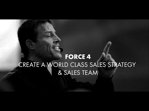 Business Mastery Force 4: Sales Mastery Systems | Tony Robbins